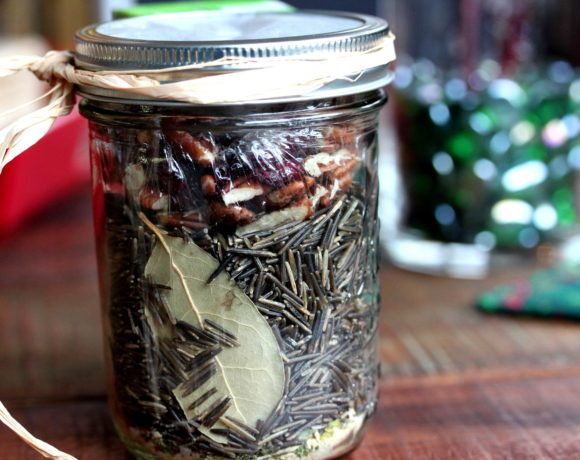 Apple Wild Rice Pilaf (a Perfect Holiday Gift-Jar gift)