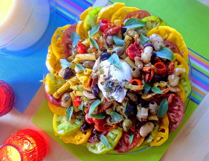 Best ever caprese salad