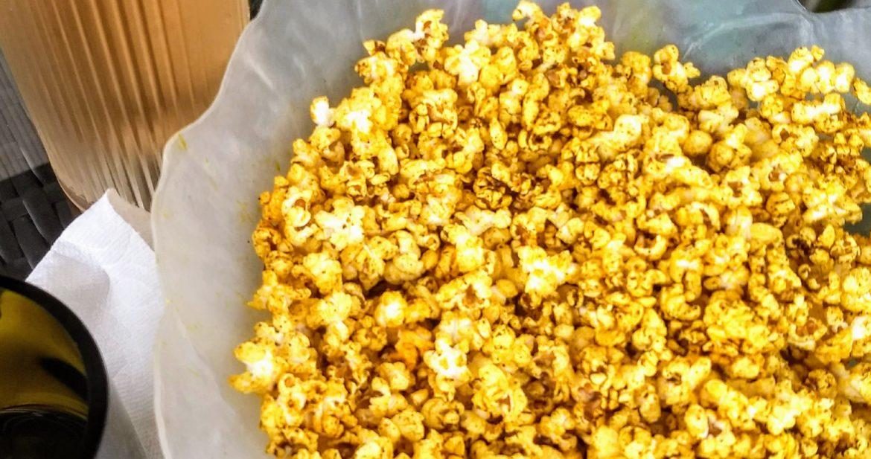 Addictive Zesty Lime Popcorn