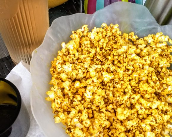 Addictive Zesty Lime Popcorn