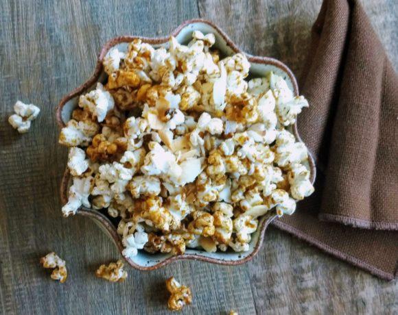 Toasted popcorn