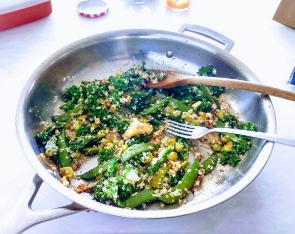 spring stir fry