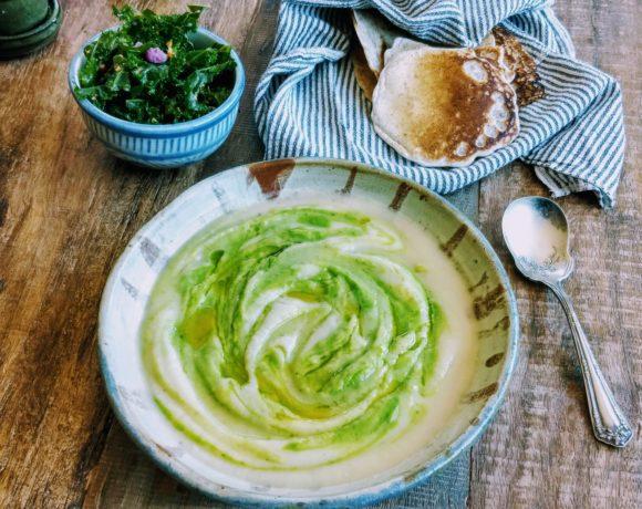 vegan celeric soup