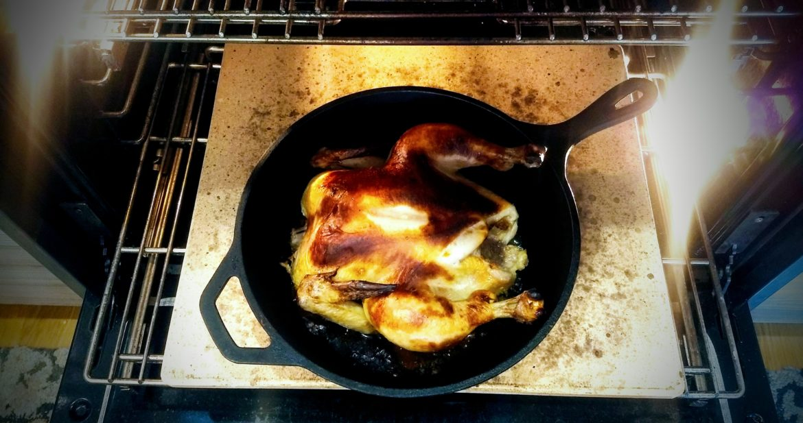 Roasted Chicken with Coconut