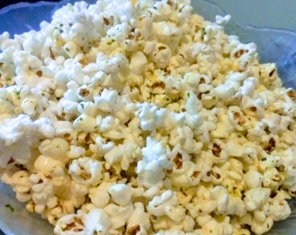 garlic herb popcorn