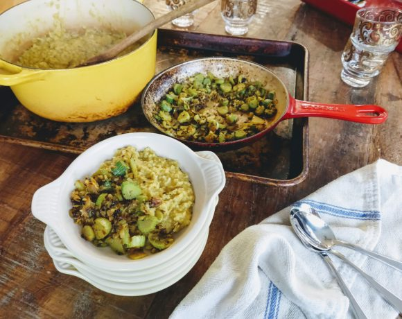 fennel braised kitchari