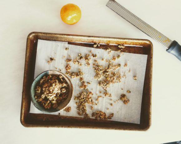 GF Quinoa Chai Granola