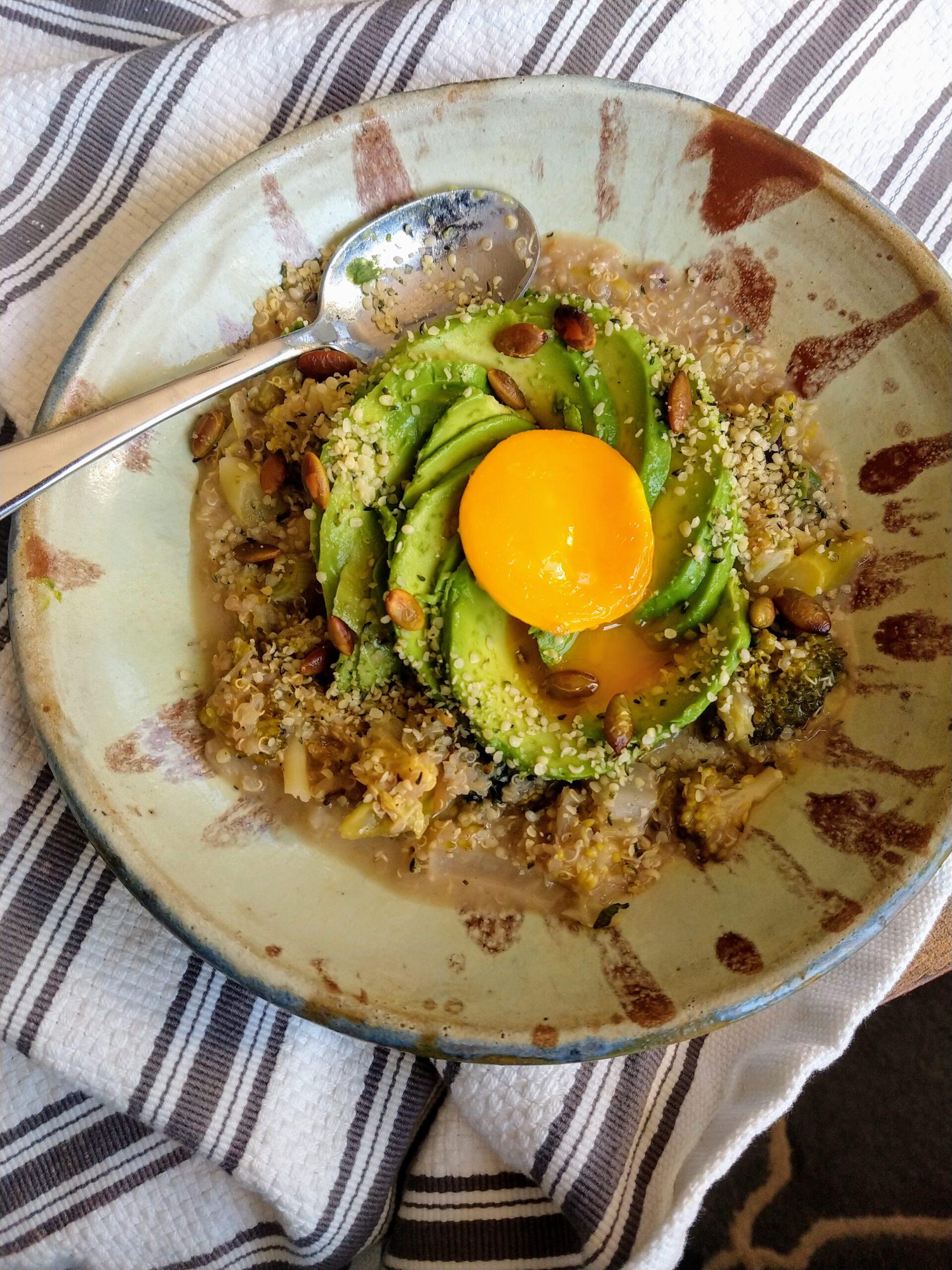 egg avocado bowl