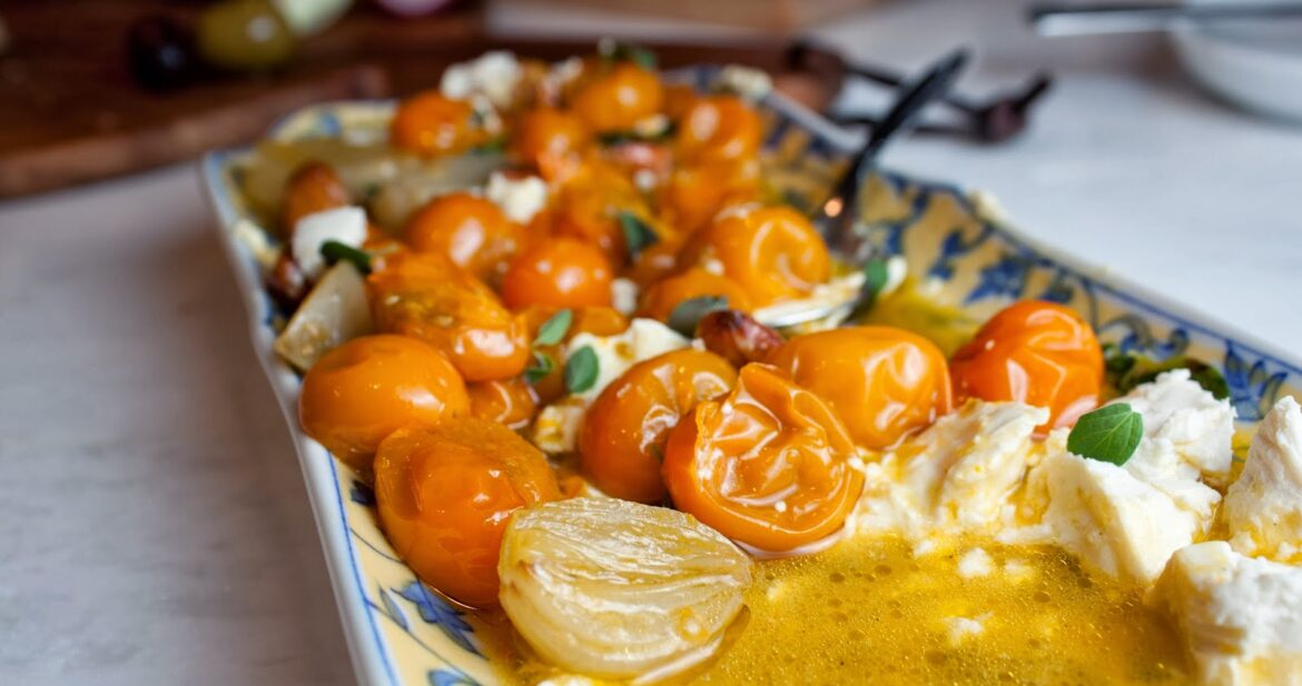 tomatoes and goat cheese