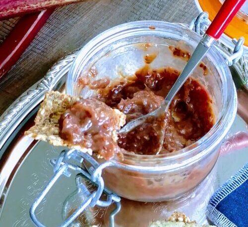 Rhubarb Chia Jam