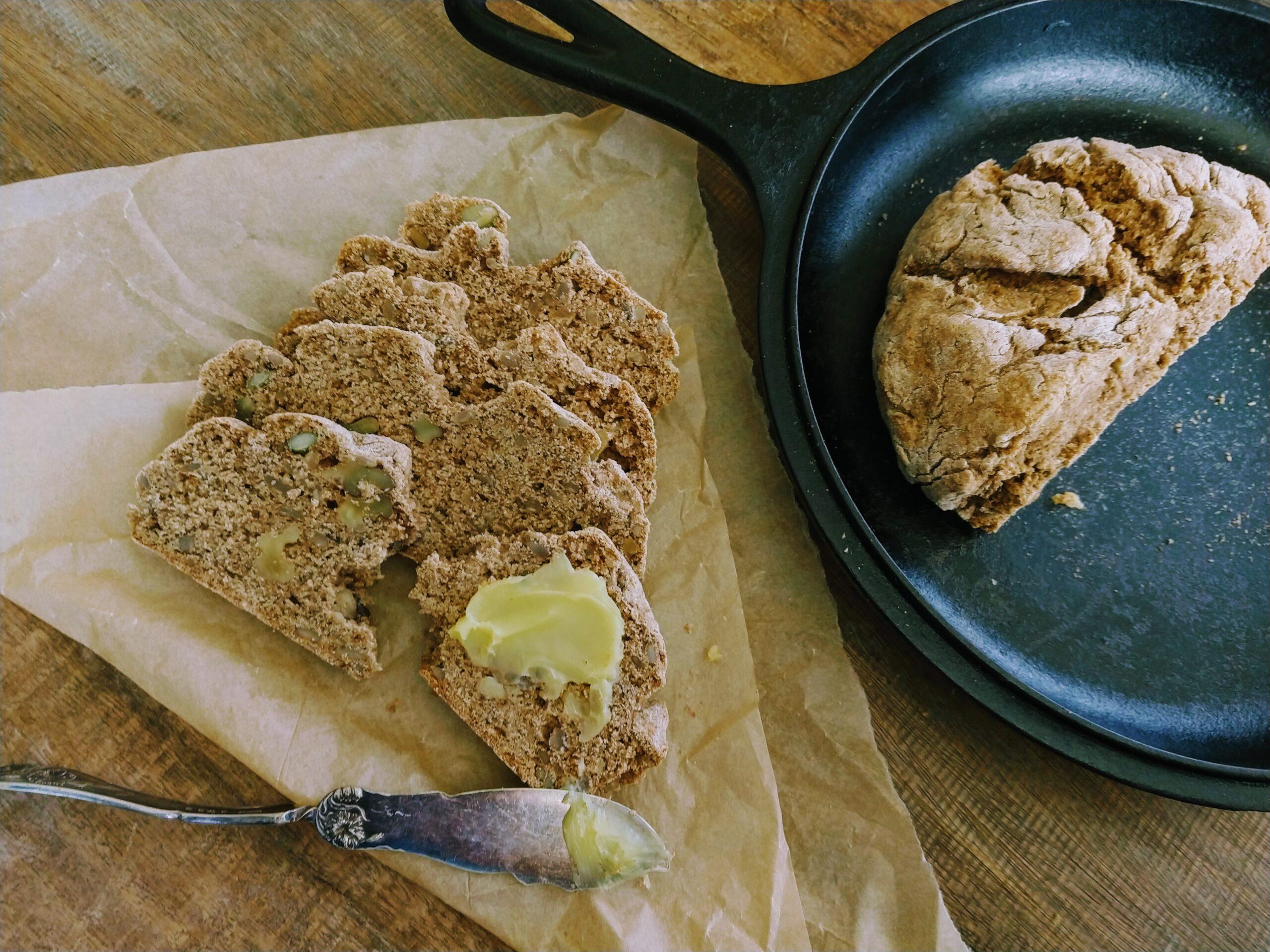 Vegan Rye Spelt Bread
